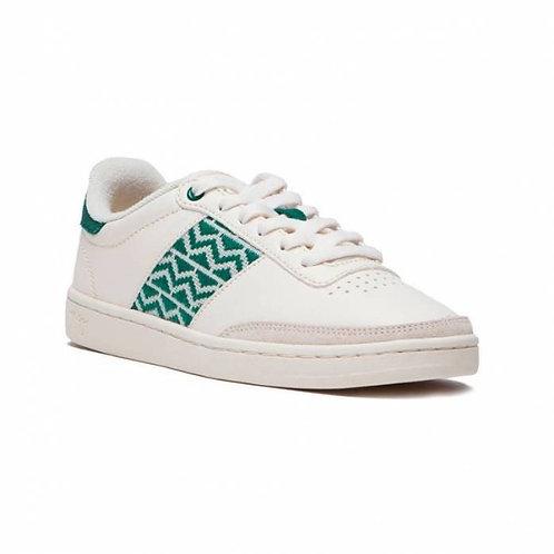 Sneakers cuir – N'Go – Sa Pa, Vert