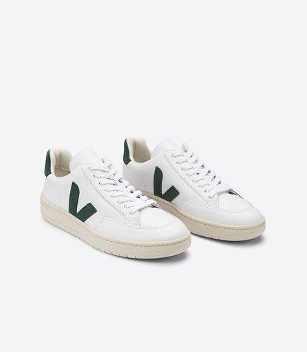 Sneakers – Veja – Lacets Blanc et vert
