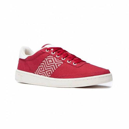 Sneakers toile- N'Go – Hoan Kiem, Rouge
