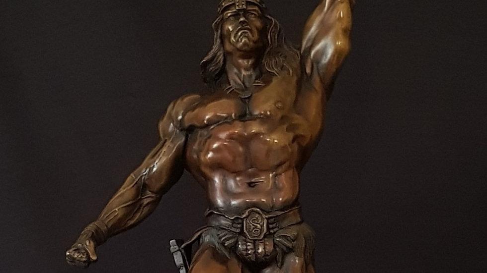 Conan the Barbarian Cold cast Bronze statue