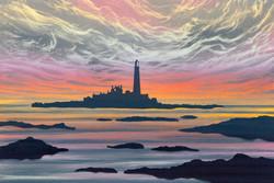 Dawn Light, St Mary's Island