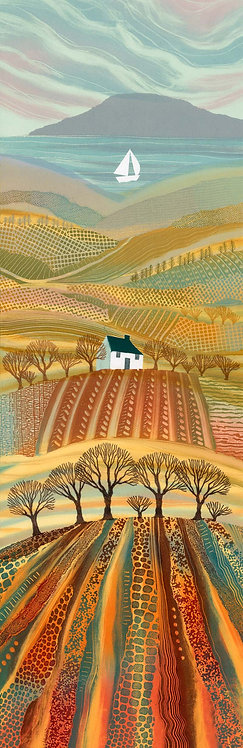 Rebecca Vincent Art landscape print Promised Land UK