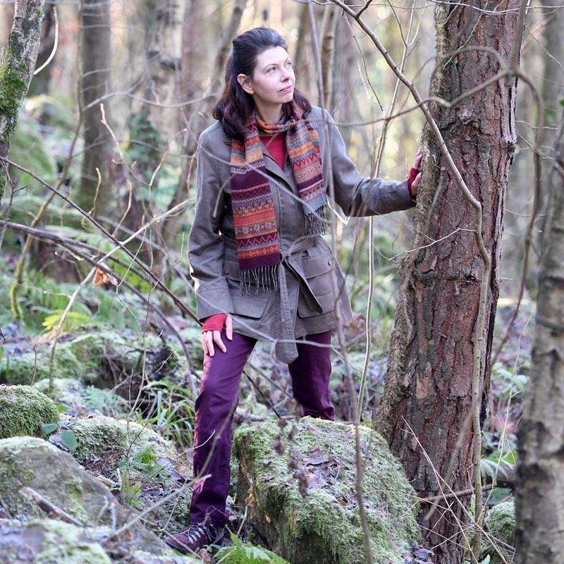 Rebecca Vincent Northumberland artists Hearth Horsley Whittle Dene Walk