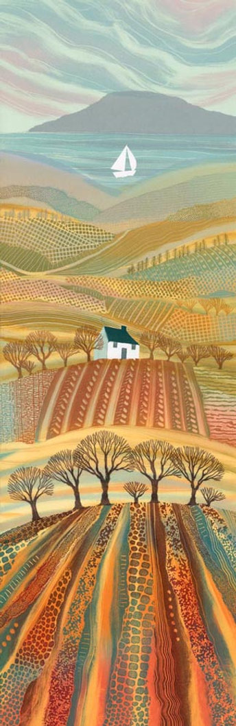 Rebecca Vincent Northumberland artist print Promised Land countryside