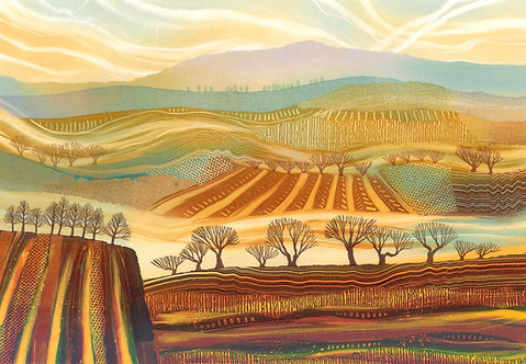 A Rift in the Land giclee print mounted