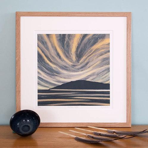 Northern Light giclée print framed