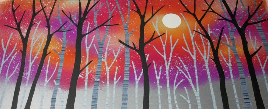 Rebecca Vincent Lancashire woodland art