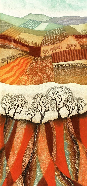 Fields and Furrows greetings card RV16