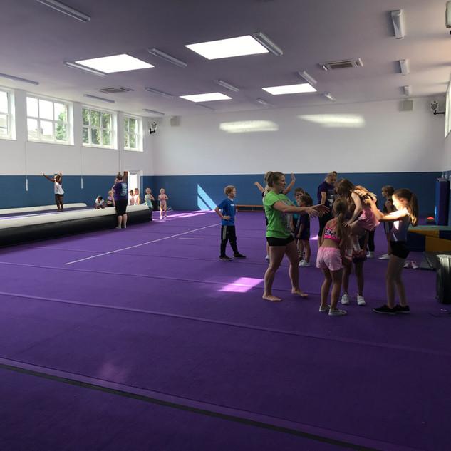 Surrey Starlets Rosebery Gym