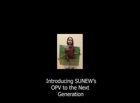 Introducing SUNEW and OPV