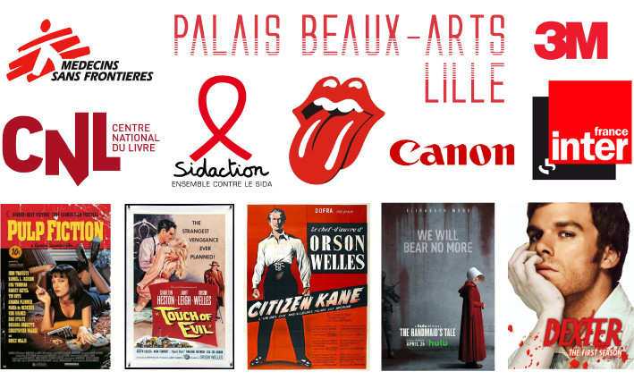 Logos et affiches rouge - Studio JL