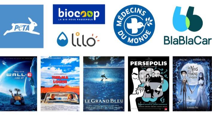 Logos et affiches bleu - Studio JL