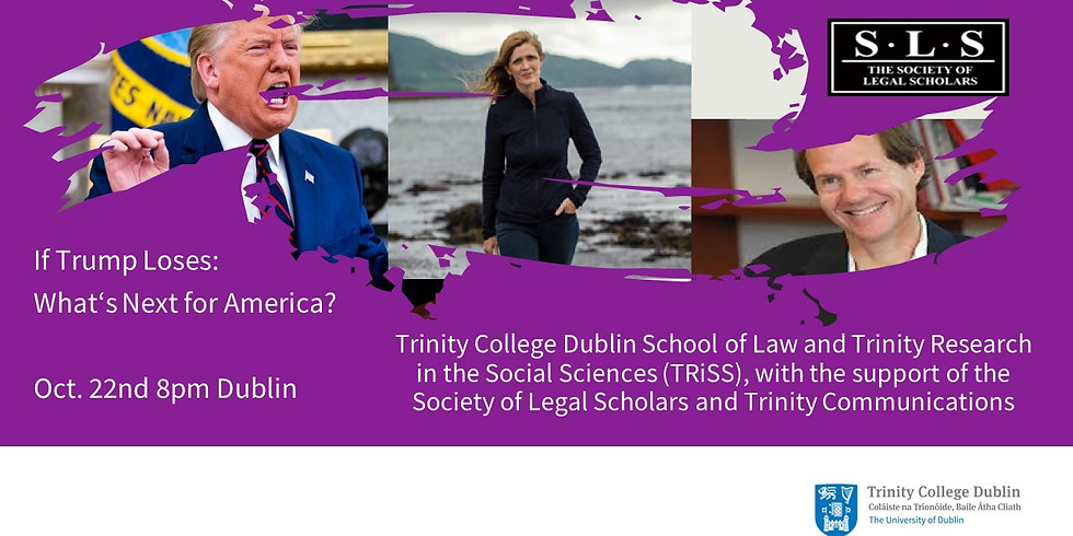 Samantha Power and Cass Sunstein in Conversation with Donna Lyons at Trinity College School of Law