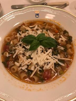 Beautiful soup.