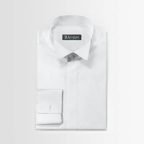 Tuxedo Shirt With Wing Tip - Standard Size