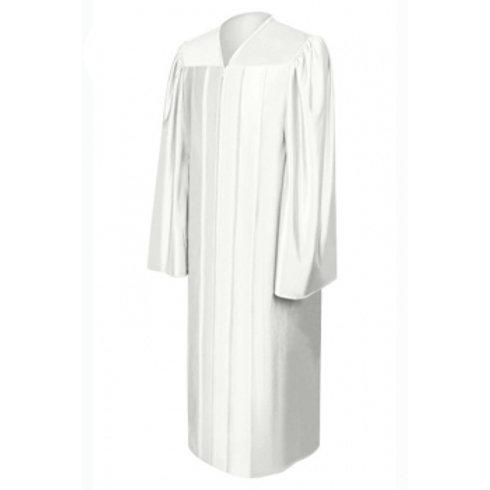 Satin Graduation Gown