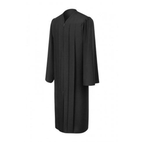 Matte Graduation Gown