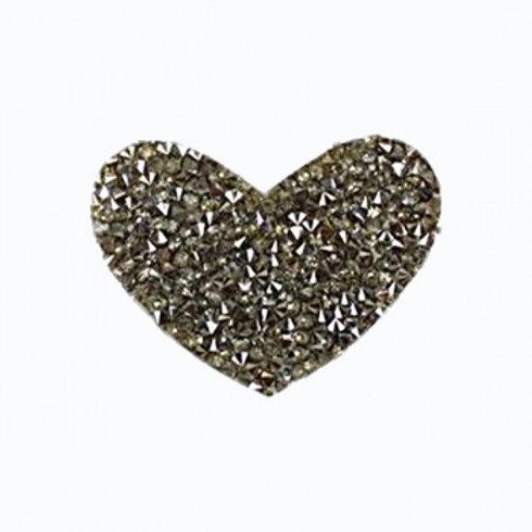 Heart Rhinestones Mask