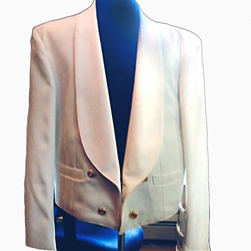 White Mess Dress Jacket