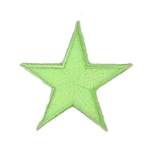 Glow-in-the-dark Green Star Mask