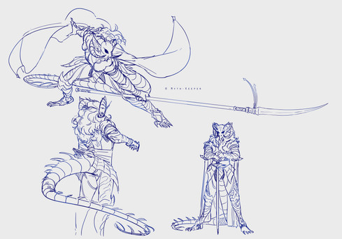 Olyrus Feilyn concept sketches