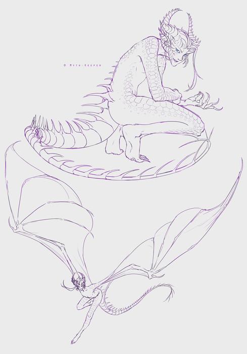 Xeroe concept sketches