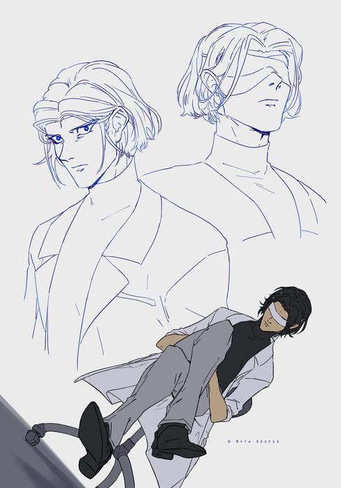 The Reader concept sketches