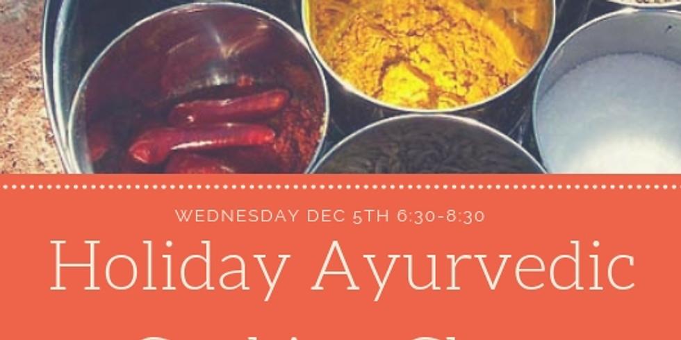 Holiday Ayurvedic Cooking Class