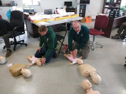 CPR & First Aid Training