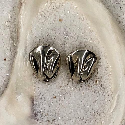 Hagit Gorali Sterling Silver Post Earrings
