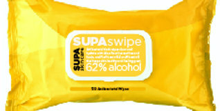 WSSB  SUPAswipe - Citrus Cleansing Hand Wipes CURRENTLY BACK ORDERED - 9/28/2020