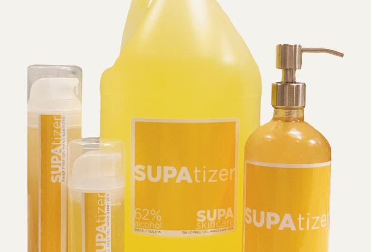 SUPAtizer- Moisturizing Citrus Hand Sanitizer
