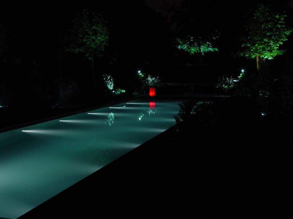 Eclairage d'eau