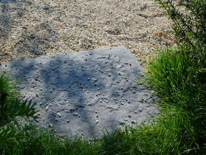 Dalle en pierre ancienne