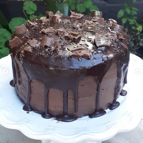 Oozy Chocolate Cake