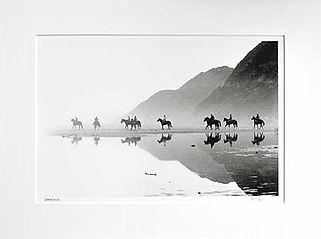 Horses on the Beach Standard
