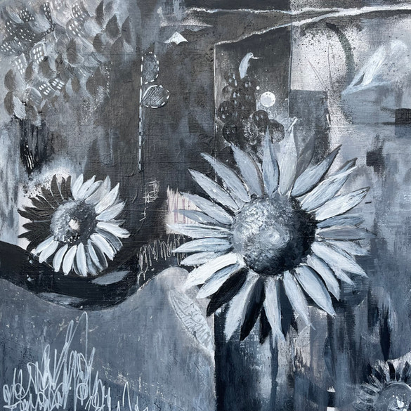Autumn Sunflower Field