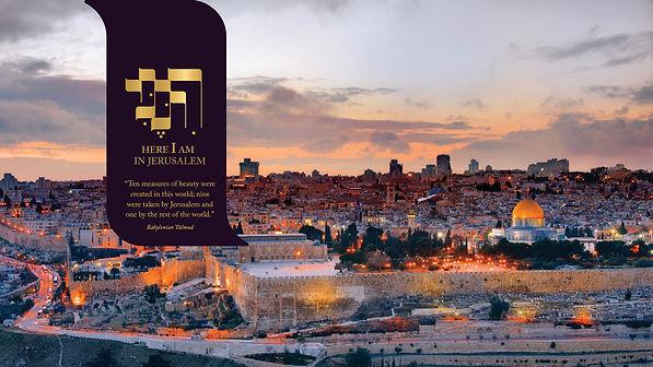 Here I Am Jerusalem