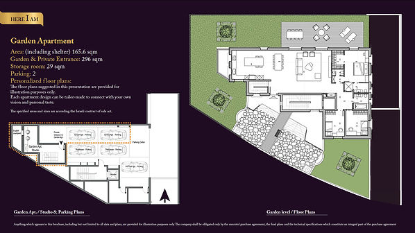 Here I Am Floor Plans