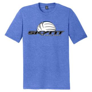 DM130 Heather Blue T-Shirt w/ Skynt Logo