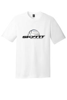 DM130 White T-Shirt w/ Skynt Logo