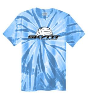 PC147 Lt Blue Tie-Dye T-Shirt w/ Skynt Logo