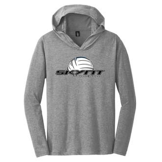 DM139 Grey Hoodie Tee w/ Skynt Logo