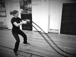 sophie battle ropes