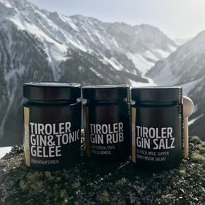 Tiroler Gin-Feinkost am Berg.