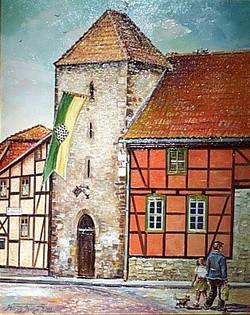 Schachturm in Ströbeck