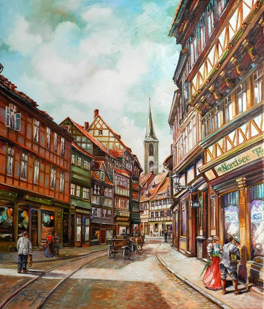 Alt Halberstadt, Hoher Weg