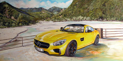 Gelber Mercedes