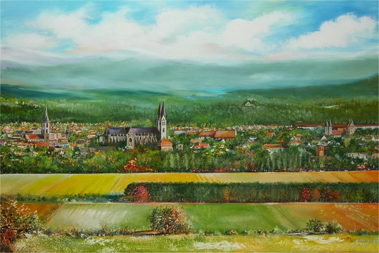 Ansicht auf Halberstadt