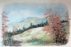 550-Wandmalerei-Harzlandschaft-Gaststaette-Halberstadt-ca-5qm-2003